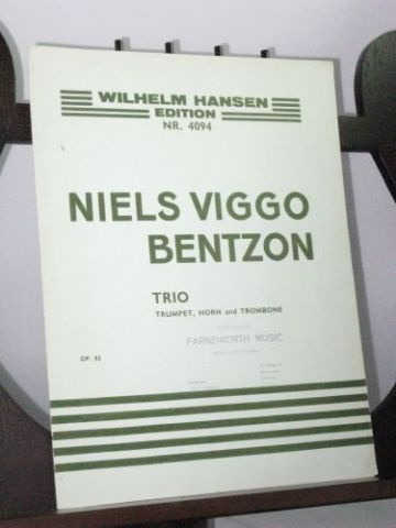 Bentzon N V - Trio for Trumpet, Horn and Trombone Op 82